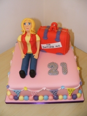 21st-girls-suitcase-cake