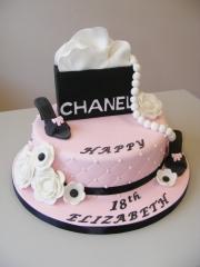 Girls-18th-cake