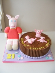 Pigs-in-Mud-cake