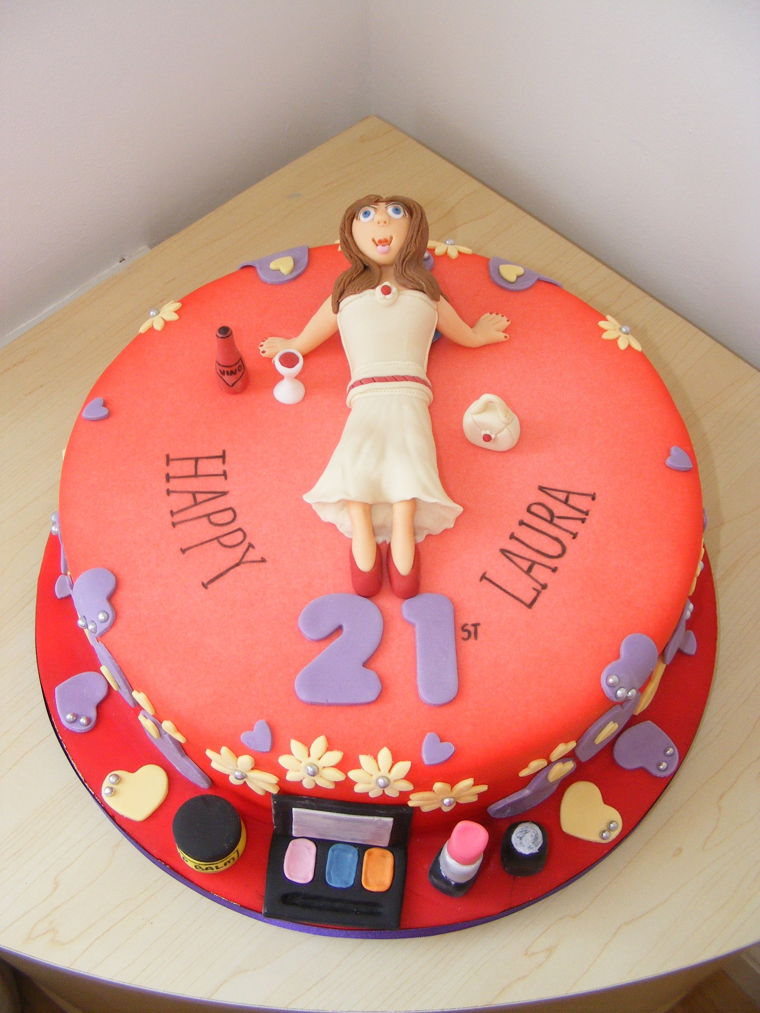 18th amp 21st cakes littlecakecharacters stoke on trent cake maker