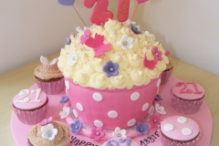 21st Giant Cupcake