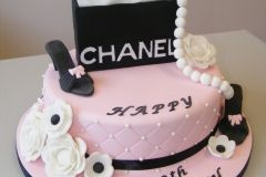 Girls 18th cake