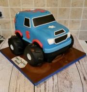 Monster Truck birthday cake  3d