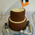 Chopped tree cake