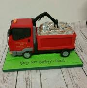 Scrap Truck Birthday cake