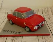 Alfa Romeo GT Giulia Classic car  cake