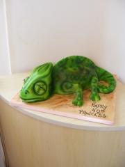 Chameleon-3D-Cake