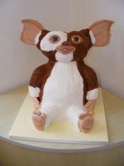 Gizmo-Gremlins 3d birthday cake