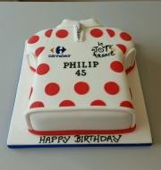 Tour de France Jersey cake