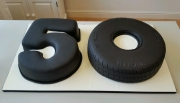 Gents 50th numbers cake