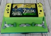 Nintendo Switch Legend of Zelda cake