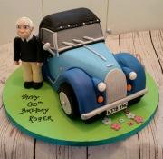 Morgan classic car cake