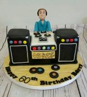 DJ cake old school
