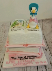 Story book Puddle Duck cake