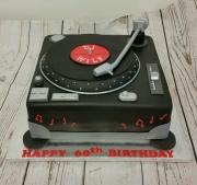Decks birthday cake