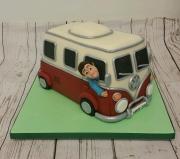 VW Campervan classic cake