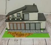 Grand  Design House cake