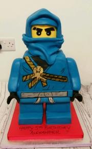 Ninjago Lego Figure 3d cake