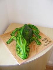 Chameleon-Cake