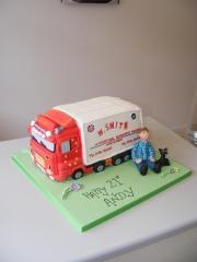 Lorry-truck-3d-cake