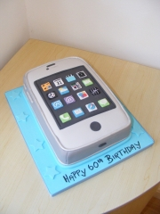 Mobile-phone-cake