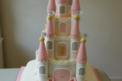 Fairytale story book and princess castle cake 3d