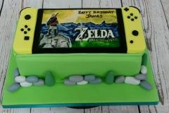 Nintendo Switch cake Zelda