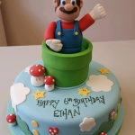 Supermario birthday cake