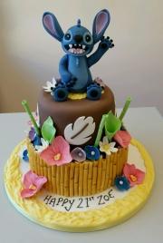 Lilo and Stitch themed cake