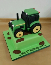 Tractor  childrens cake