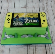 Nintendo switch cake