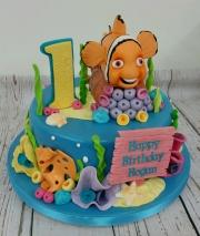 Under the Sea Nemo Cake