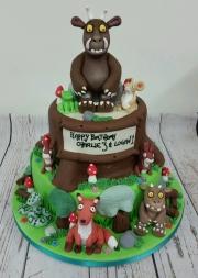 The Gruffalo Birthday Cake