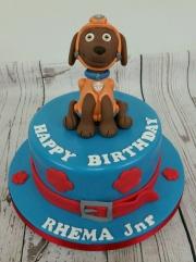 Paw Patrol Zuma Birthday Cake