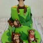 21st Birthday Cake Monkeys