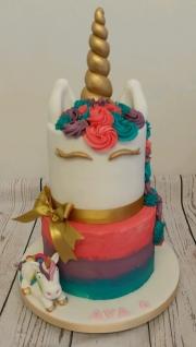Children's Unicorn Tiered Cake