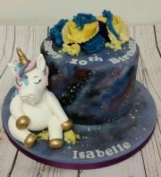 Stuffed Unicorn Cake