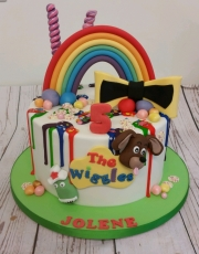 The Wiggles childrens birthday cake