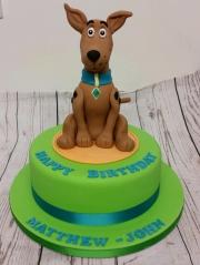 Scooby doo childrens birthday cake
