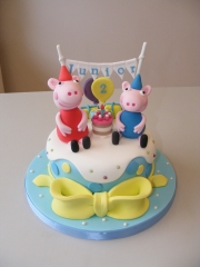 Party-peppa pig cake