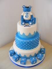 1st Birthday 3 Tier Cake