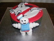 Ghostbusters cake