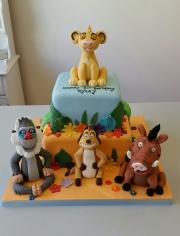 The Lion King birthday cake