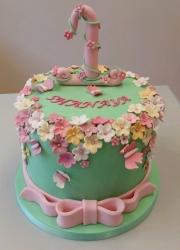 1st birthday cake  girls