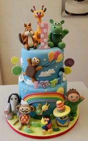Babytv characters childrens birthday cake