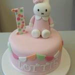 Miffy 1st birthday cake