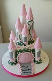 Castle cake girls