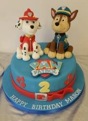 Chase and Marshall cake