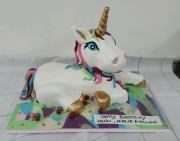 Large 3d Unicorn birthday cake