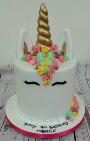 Deep unicorn birthday cake